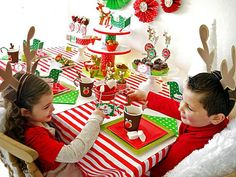 Sweets and Seats - Host a Rudolph-Themed Fondue Party This Christmas on HGTV
