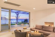 Five star luxury seafront villa Amor, Vamos | Cretico
