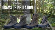 When it comes to hunting boots, there are two main concerns you may have, will these hunting boots keep my feet warm and will my feet stay dry? Based on how the hunting boot is made and the grams of insulation the boot has you can get a fairly good idea of whether or not the boots will work for the type of hunting you are doing and the season you are hunting in. It's always a good idea to research any hunting boot before you make a purchase. Also, it's important that you try the boots on in…