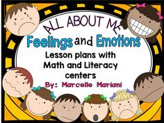 This ALL ABOUT ME-FEELINGS and EMOTIONS package contains a full week of literacy…
