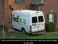 Special delivery...