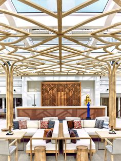 If it is relaxation you seek onboard Viking Star, head to the serene Wintergarden. This Scandinavian-inspired space is the ideal environment for a cup of tea.
