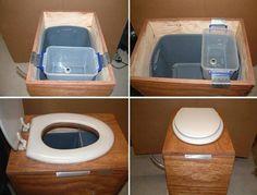 Toaleta ecologica (compost)