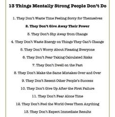 "Pieter vd Hoogenband on Twitter: ""13 Things mentally strong people don't do https://t.co/LNA6AqieYY"""