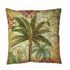 Shop for Thumbprintz Palms Pattern III Throw or Floor Pillow. Get free shipping at Overstock.com - Your Online Home Decor Outlet Store! Get 5% in rewards with Club O!