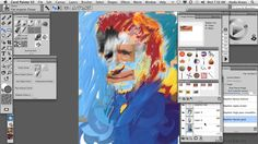 Corel Painter X3 Tutorial | Portrait Of Stephen