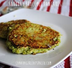 Savory Broccoli Pancakes Shared on https://www.facebook.com/LowCarbZen