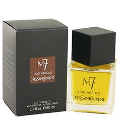 M7 Oud Absolu by Yves Saint Laurent Eau De Toilette Spray 2.7 oz/80 ml Men