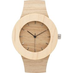 Analog Carpenter Silverheart & Maple Wood Watch | Markings