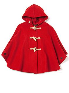 Fidelity Short Cape. I would feel just like little red riding hood. ;)