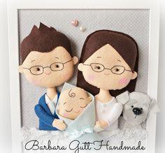 Barbara Handmade...: Familijny portret :)