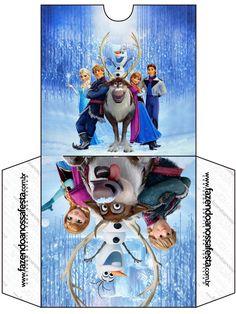 Envelope CD DVD Frozen Disney - Uma Aventura Congelante: http://fazendoanossafesta.com.br/2014/01/frozendisney-umaaventuracongelante.html/frozen-disney-uma-aventura-congelante-53/#main