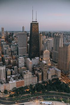 Windy City twilight. - Chicago