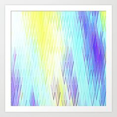 Re-Created Vertices No. 30 #Art #Print by #Robert #S. #Lee - $18.00