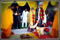 Saptapadi in Hindu Weddings