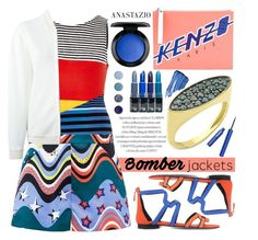 """""""Anastazio-summer bomber jackets"""" by anastazio-kotsopoulos ❤ liked on Polyvore featuring River Island, M Missoni, STELLA McCARTNEY, Kenzo, Pierre Hardy, Anastazio, Terre Mère and By Terry"""