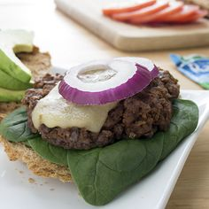 Mexican Ranch Burgers | Skinny Mom | Where Moms Get The Skinny On Healthy Living The patty is worth 4 WW points plus.