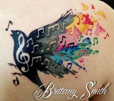 about Watercolor Tattoo Music on Pinterest | Watercolor Tattoos, Music ...