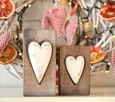 #decoration #christmas #candleholder #candles #scandinavian Wooden candle holders are from DUKA