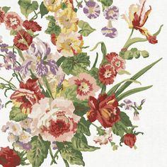 Ladies Mantle Floral - Trellis - Florals - Fabric - Products - Ralph Lauren Home - RalphLaurenHome.com