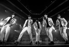 Black & White Picture of BSB IAWLT Tour 2013