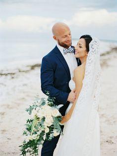 Intimate moment between Bride & Groom! Punta Cana Destination Wedding!