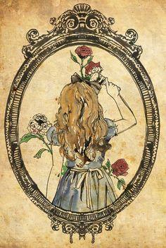 Alice in wonder land art