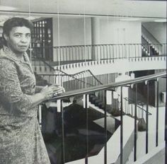 Talladega alum Librarian Alma Smith Jacobs was the first African American to serve as the Montana State Librarian. She was a lifelong advocate of free access to library resources and was active in local and state civil rights causes.