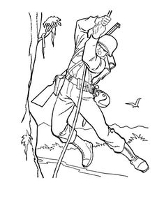 Free Coloring Pages George Washington Cherry Tree Printable