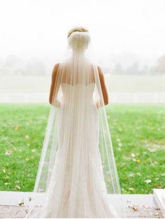 474 Best simple wedding veil images  a4ba58edf9be