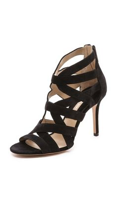 Michael Kors Collection Merida Cutout Sandals