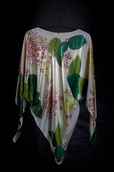 Fabric Kimono Top, Textiles, Artist, Fabric, Tops, Women, Fashion, Tejido, Moda