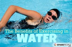 Water fitness can be a great way to increase strength, flexibility and cardiovascular health. via @SparkPeople