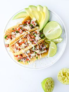 Pin for Later: Satisfy Your Taco Addiction With These Delicious Recipes Easy Weeknight Chicken Tacos Get the recipe: Easy Weeknight Chicken Tacos Mexican Food Recipes, Dinner Recipes, Lunch Recipes, Cooking Recipes, Healthy Recipes, Delicious Recipes, Healthy Foods, Easy Recipes, Comida Latina