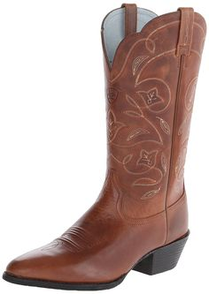 Ariat Women's Heritage Western R Toe Western Cowboy Boot *** Startling review available here  : Work boots
