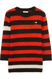 Bella FreudMenace striped knitted sweater