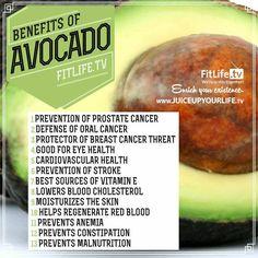 Benefits of Avocado!