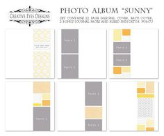 Free template to create a photo book for yourself or photography customers.