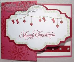 by Wendy Lee, snow festival designer printed tags, SU cards, Christmas