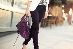 Shades of Purple :: Plum jeans