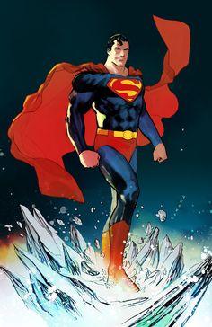 Superman by Marcio Takara * Mundo Superman, Superman 2, Superman Family, Superman Man Of Steel, Superman Artwork, Superman Wallpaper, Superman Stuff, Dc Comics Characters, Dc Comics Art