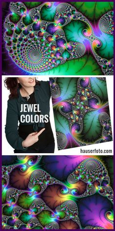 Fascinating Fractal Art with stunning jewel colors for your Home Decor. Dive into more than 400 Fractals, click here or on the image: http://matthias-hauser.pixels.com/collections/fascinating+fractals Posters and Prints (framed, canvas, metal, acrylic) available.