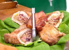 Kapuvári bicskás pecsenye | Gasztroangyal Hungarian Food, Hungarian Recipes, Pork, Chicken, Meat, Kitchen, Pork Roulade, Cucina, Cooking