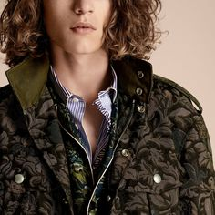 The Floral Field Jacket | Burberry