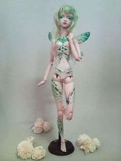 Fie - hand crafed ball jointed Angel Egg doll | Flickr - Photo Sharing!