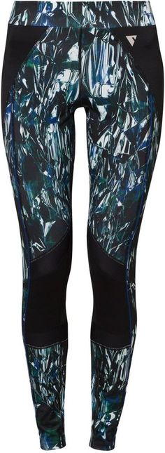 YAS Sport YASLIQUID Tights surf the web