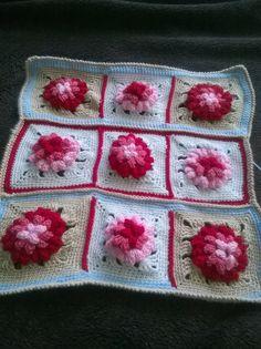Cojín  a crochet para bebés