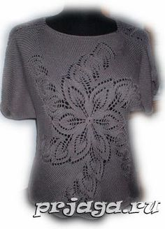 Women's blouse with needles