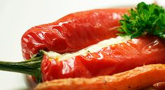 Søt spisspaprika med fetafyll og ristede rotfrukter - Min trening | SATS ELIXIA