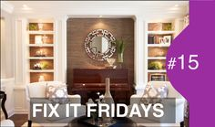 Interior Design | Beautiful Living Room Makeover | FIF # 15 #interiors